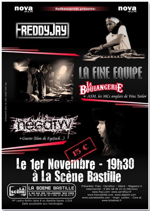 Affiche Concert negatyv