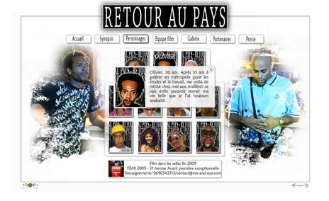 """Site Web du film """"Retour au Pays"""""""