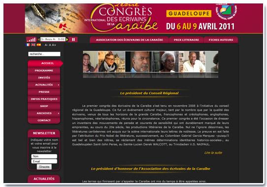 congrès des écrivains accueil