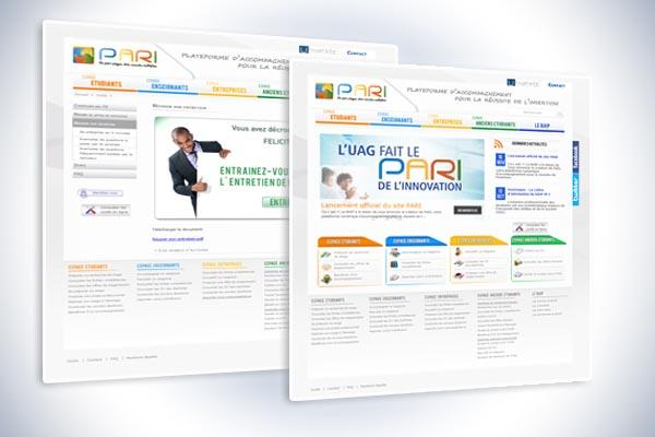 site internet pari.univ-antilles.fr