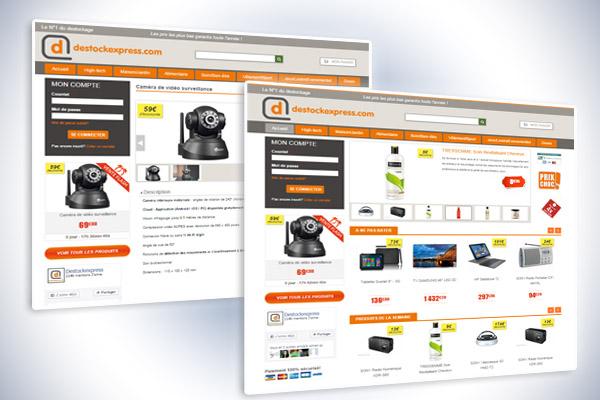 Site internet destockexpress.com 4
