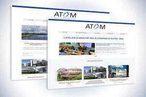 Site internet atom
