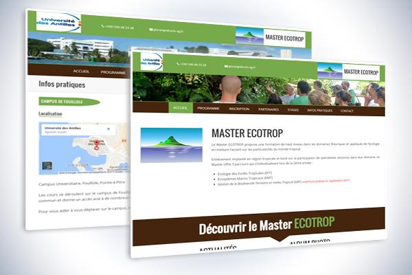 Site internet ecotrop